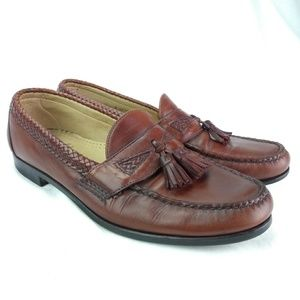 Allen Edmonds Maxfield Sz 12B Tassel Loafer 105-17